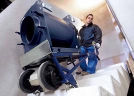 Elektryczny schodołaz towarowy Cargo Master Serii A