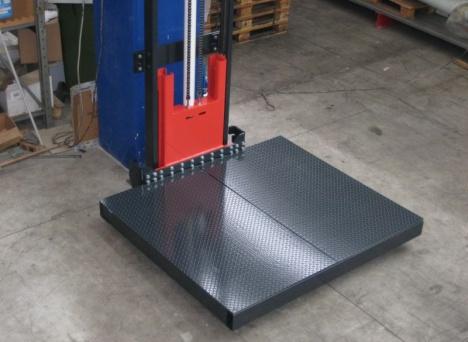 Elektrohydrauliczne platformy towarowe