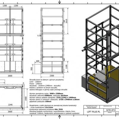 Projekty szybu razem z produkcją wykonujemy na miejscu w Jurajskiej Fabryce Wind.
